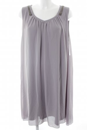 ZAY Clothing Midi Dress mauve-silver-colored elegant