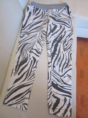Zebra-Sweathose Gr. L
