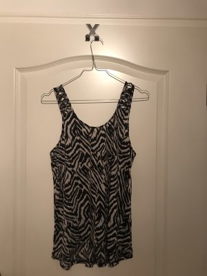 H&M Cut Out Top multicolored