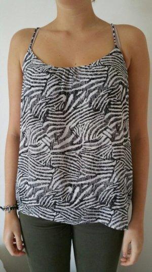 Zebra Top H&M *top zustand*