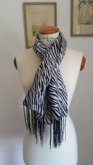 Zebra Tuch Fransen Tk Maxx