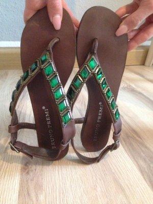 Zehen Sandale von Bruno Premi Gr.38 * Kaum getragen, hervorragender Zustand * Echtleder, angenehmen Tragekomfort