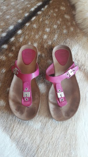 Dr. Scholl Toe-Post sandals pink leather