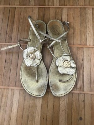 Tory Burch Toe-Post sandals gold-colored