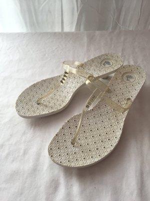 Versace Scarpa bianco sporco