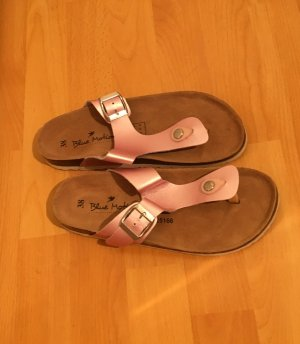Blue Motion Toe-Post sandals pink