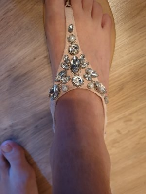 New Look Toe-Post sandals pink