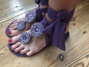 Xanaka Flip-Flop Sandals lilac