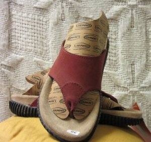 Scarpa multicolore Pelle