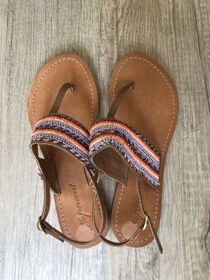Tkmaxx Sandalo toe-post multicolore Pelle