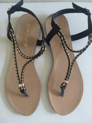 Toe-Post sandals multicolored