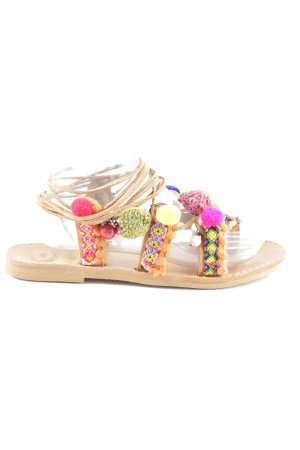 Toe-Post sandals light brown hippie style