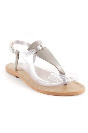 "Sandalo toe-post ""White Sun """