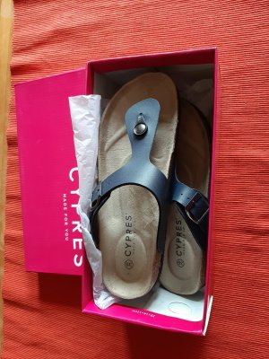 Cypres Toe-Post sandals blue