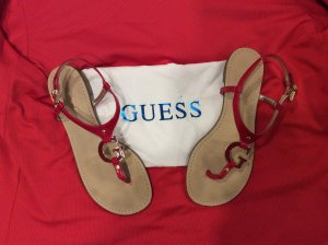 Guess Sandales rouge