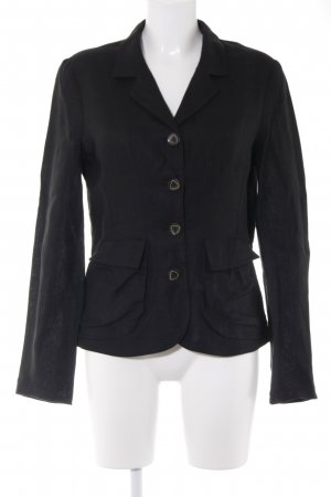 zeitlos by luana Denim Blazer black business style