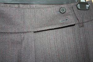 Escada Pantalón anchos marrón oscuro-negro Lana