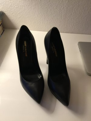 zeitlose schöne elegante Saint Laurent High Heels 38,5