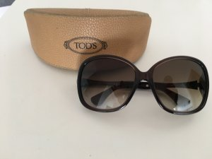 Tod's Oval Sunglasses dark brown