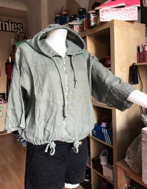 Oversized Jacket khaki-green grey