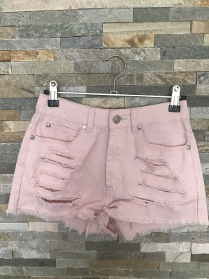 Zerfranste Highwaist Hotpants von Primark in Gr. Xxs