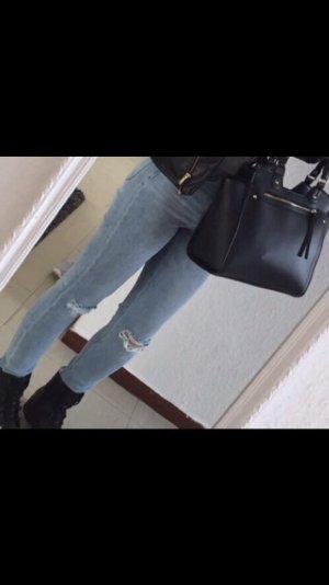 Zerissene Jeans hose