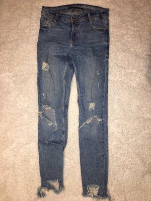 Zerissene Jeans Zara