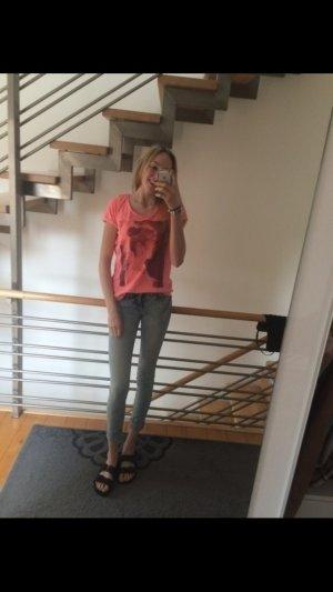 Zerissene Skinny low waist Jeans