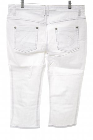 Zero 3/4 Length Trousers white simple style