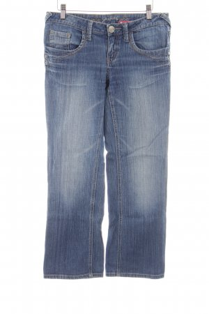 Zero 3/4 Jeans blau Street-Fashion-Look