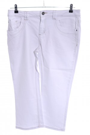 Zero 3/4 Length Jeans white casual look