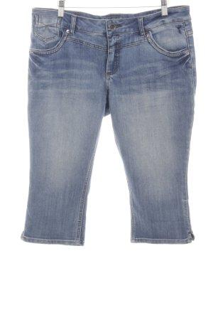Zero 3/4-jeans blauw kleurverloop casual uitstraling