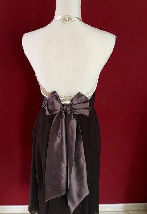 Zero 36 Kleid braun Creme Marilynstyle