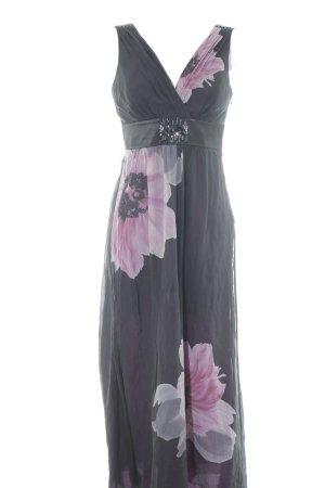 Zero A-Linien Kleid Blumenmuster Elegant