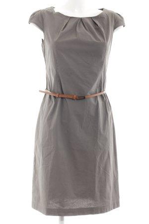 Zero A-Linien Kleid graubraun Business-Look