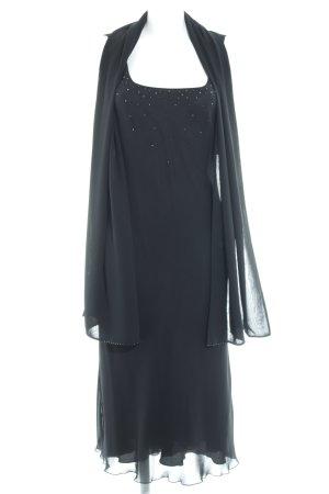 Zero A-Linien Kleid schwarz Elegant