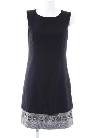 Zero A-Linien Kleid schwarz-silberfarben Casual-Look