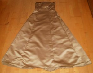 Zero Abendkleid Ballkleid Gr 42 Gold