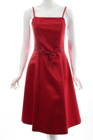 Zero Abendkleid dunkelrot 50ies-Stil