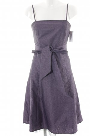 Zero Abendkleid lila Paisleymuster Elegant
