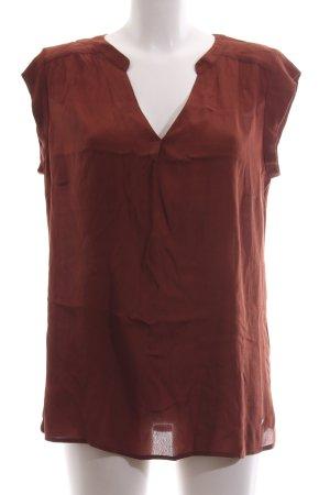 Zero Sleeveless Blouse bronze-colored casual look