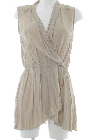 Zero ärmellose Bluse beige Casual-Look