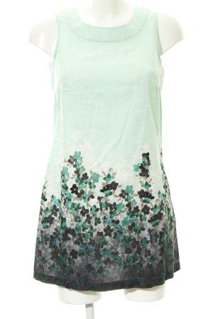 Zero ärmellose Bluse florales Muster Casual-Look
