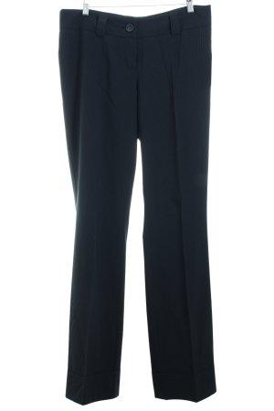 Zero Anzughose dunkelblau-hellblau Nadelstreifen Business-Look