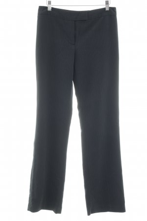 Zero Pantalon de costume bleu foncé-blanc motif de tache style d'affaires