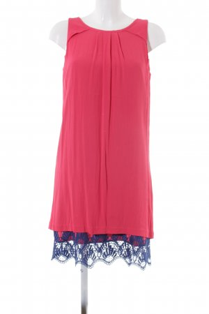 Zero Babydoll Dress bright red-blue casual look