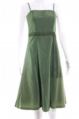 Zero Ball Dress grass green extravagant style