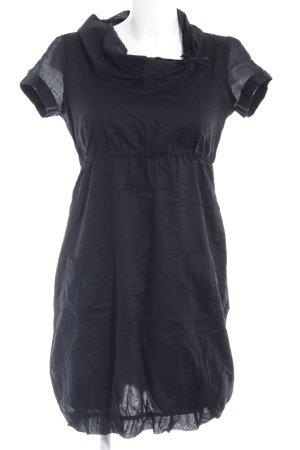 Zero vestido de globo negro elegante