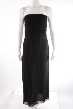 Zero Bandeau-Abendkleid schwarz