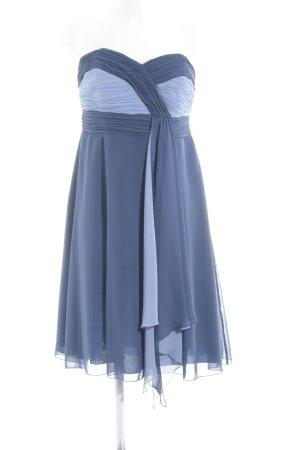 Zero Bandeaukleid dunkelblau-blassblau Elegant